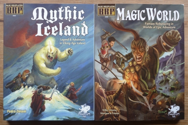 mythic iceland & magic world